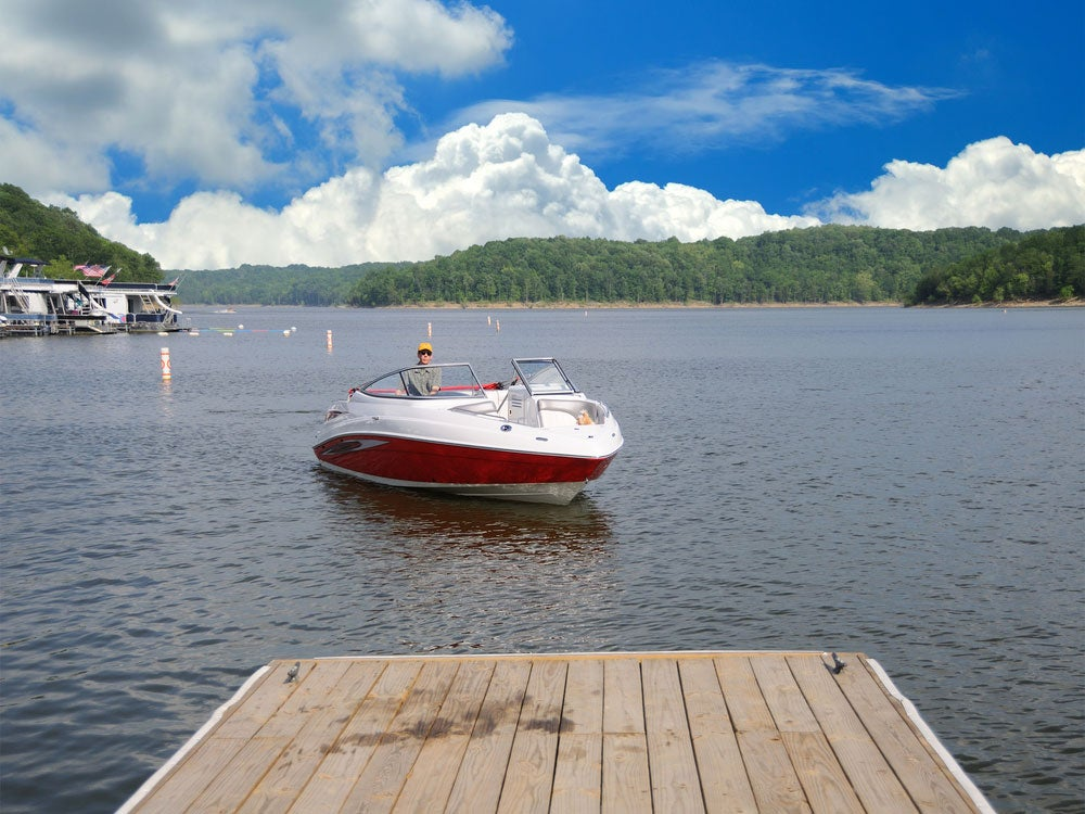 taylorsville lake state park kentucky boating