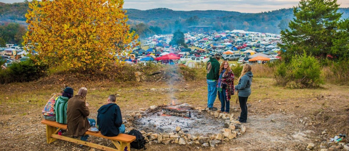 This Concert Venue in the Ozarks Is Also a Stunning Campground