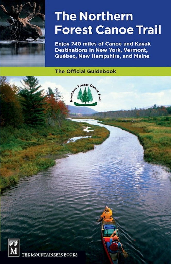 the cover of a brochure for the northern forest canoe trail