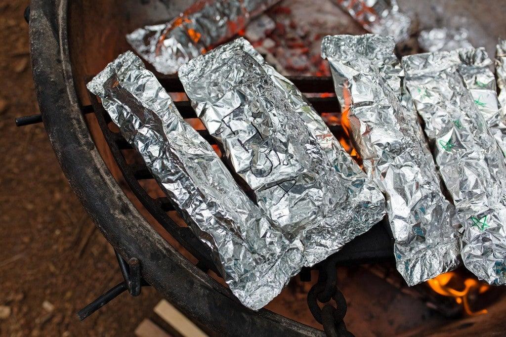 foil pack meals on campfire