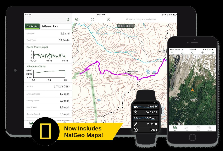 Gaia GPS.