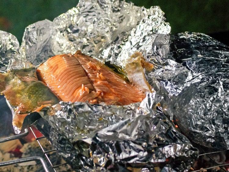 foil trout packet