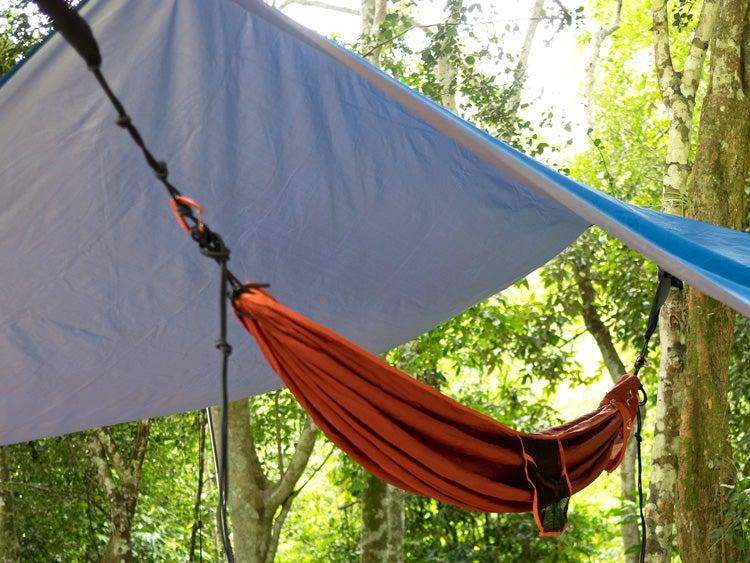 hammock with tarp rain fly