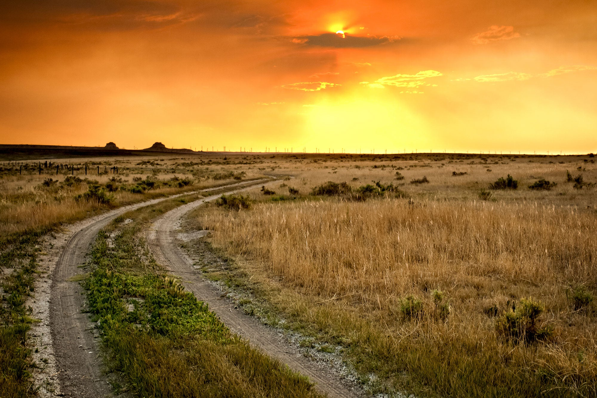 Sunset Over Pawnee Grassland