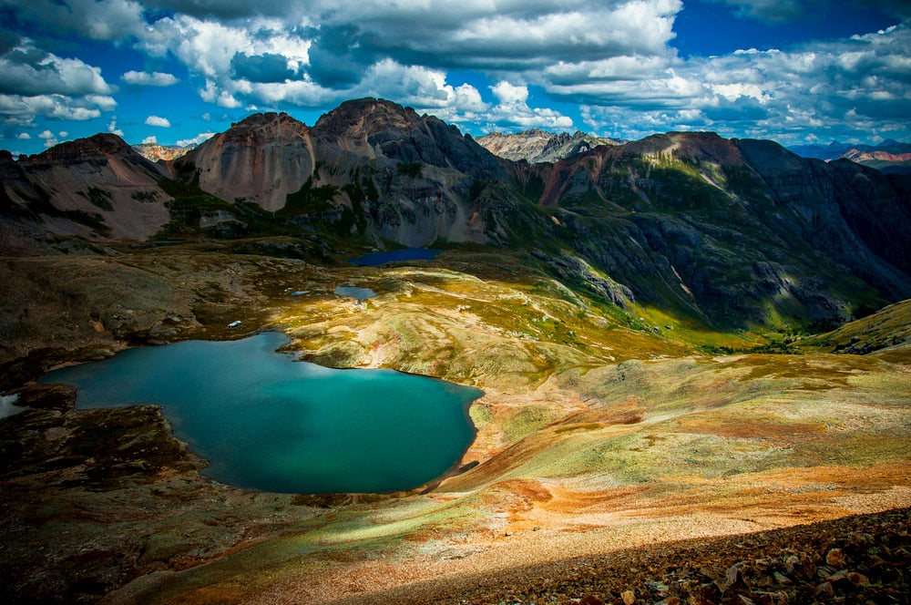 Ice Lakes, in Silverton, CO.