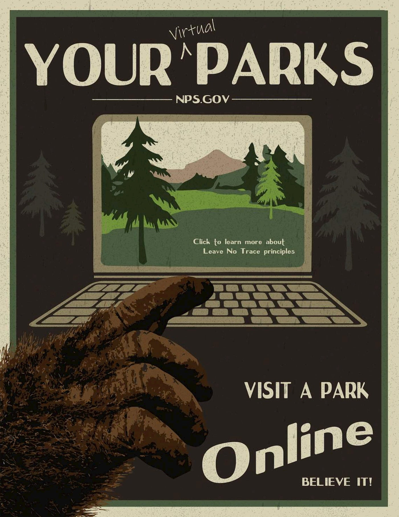 Attend a virtual event for National Public Lands Day.