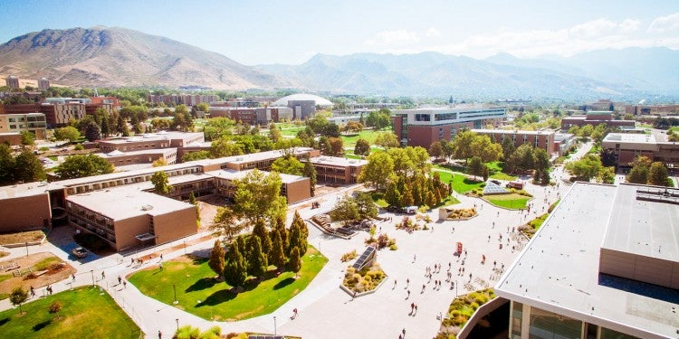 University of Utah campus in Salt Lake City.