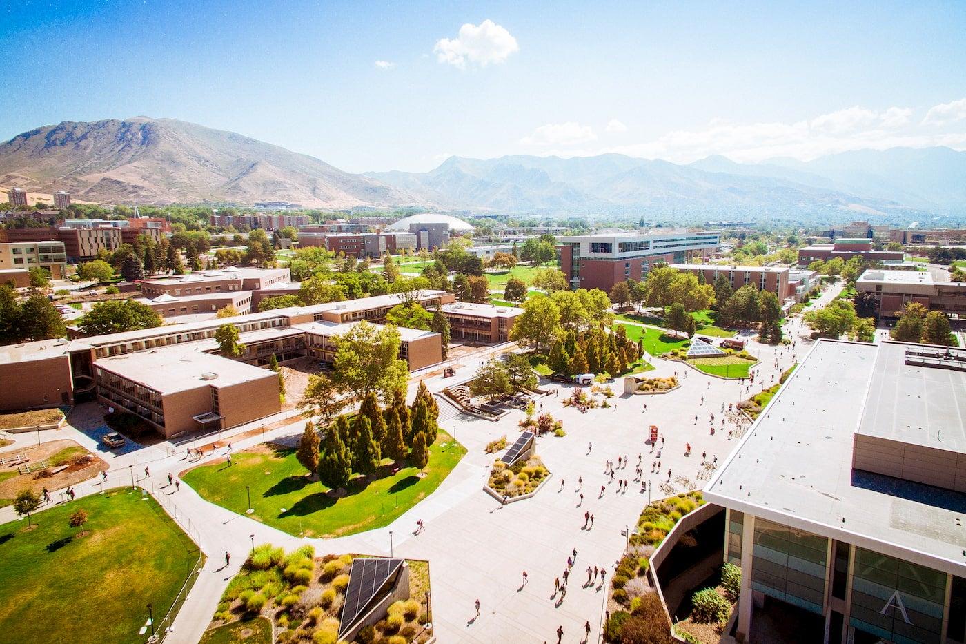University of Utah campus in Salt Lake City.