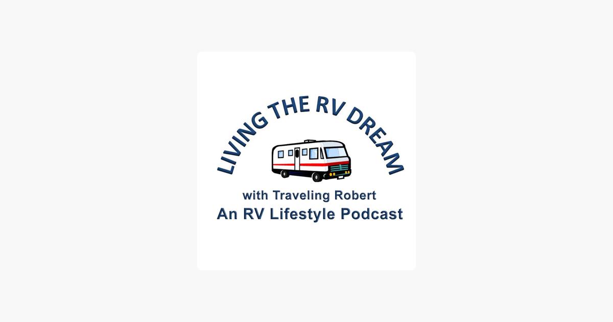 logo image for living the rv dream podcast