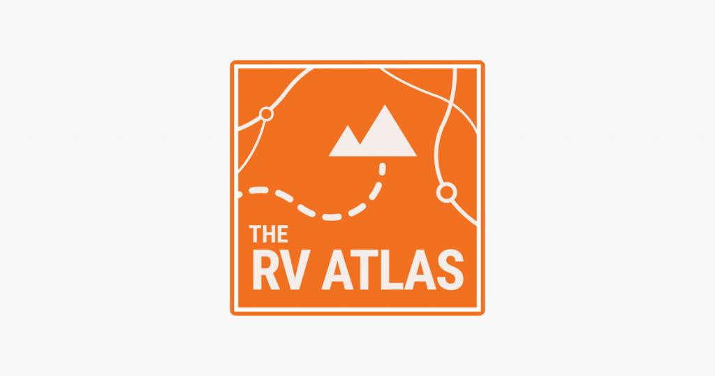 logo image for the rv atlas podcast