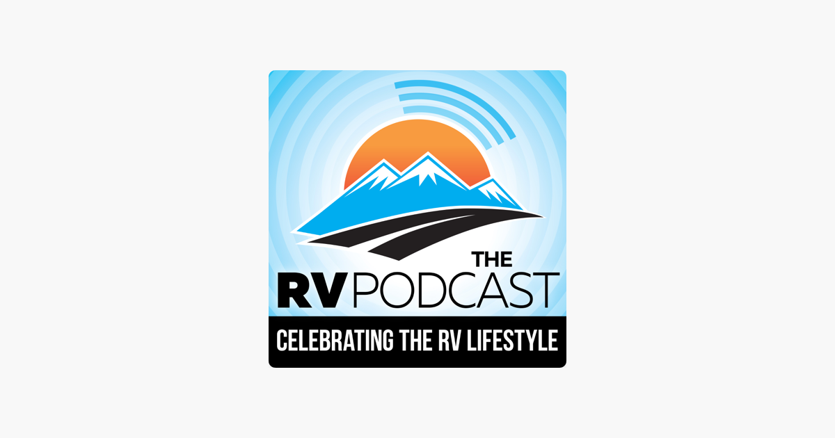 logo image for the rv podcast