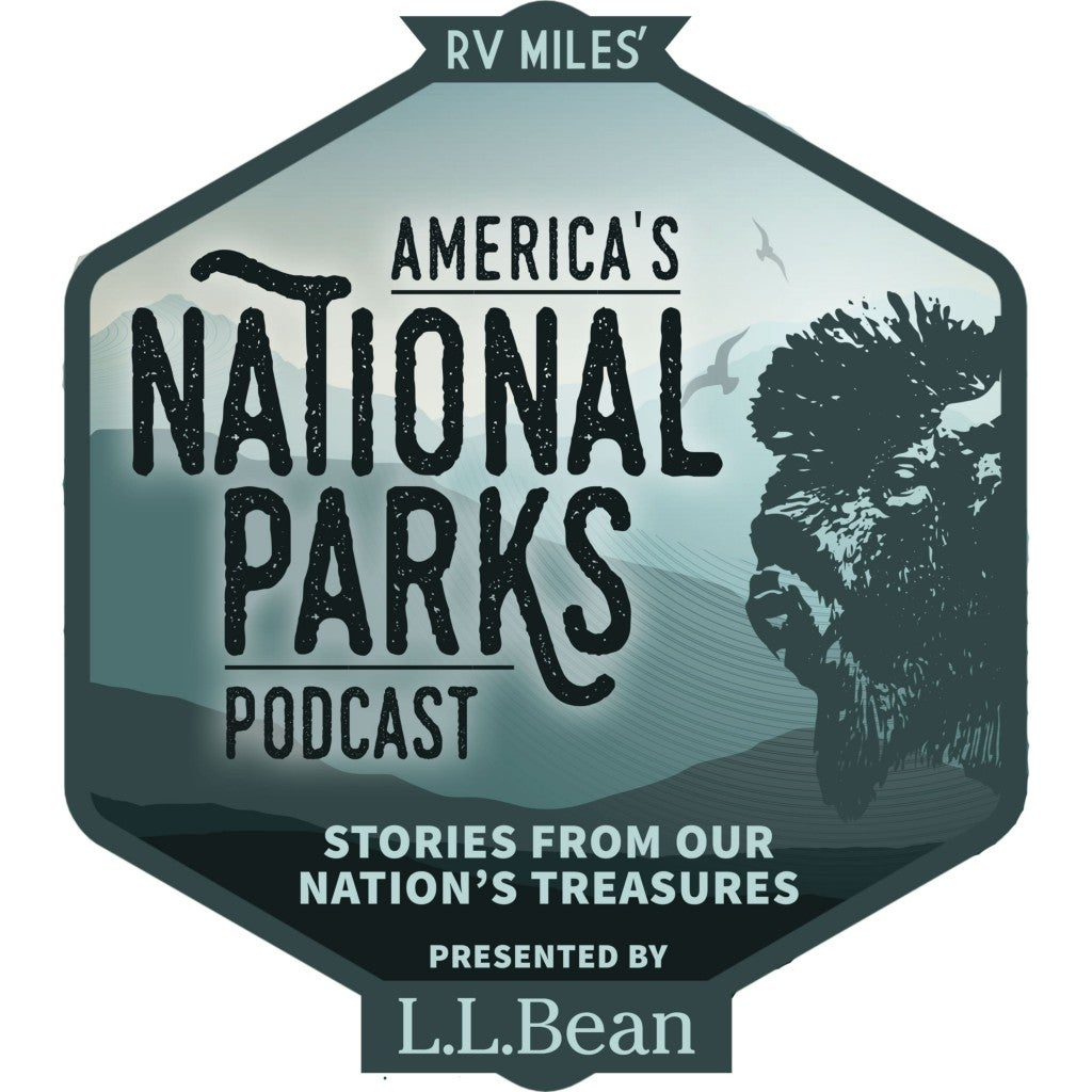 logo image of america's national parks podcast