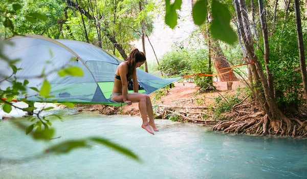 Off the ground tents by Tentsile