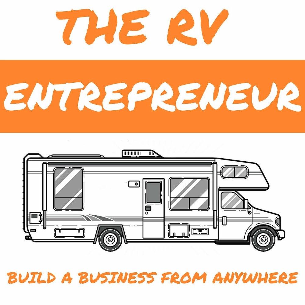 logo image for the rv entrepreneur podcast