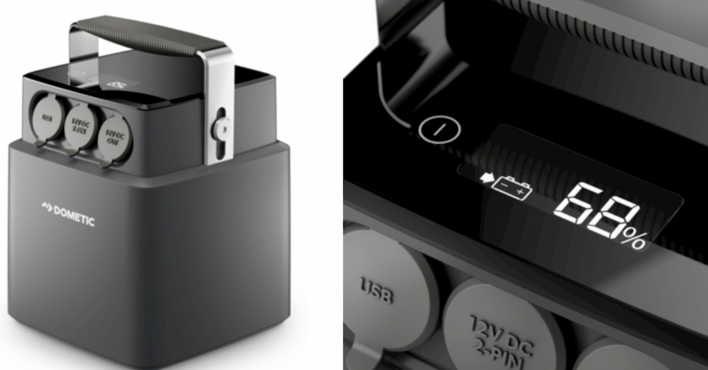 Dometic PLB40 Portable Lithium Batter, 40 AH