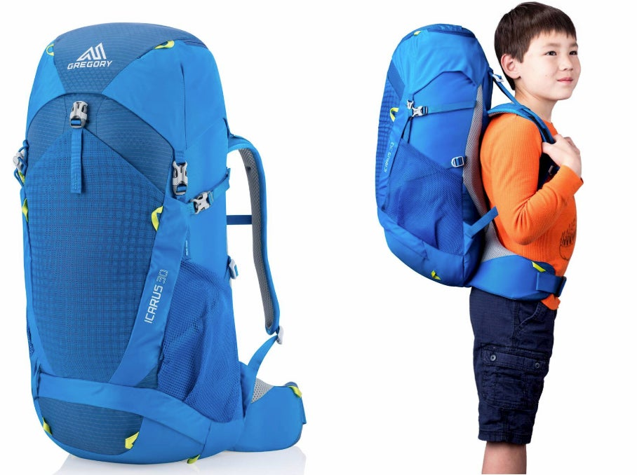 icarus 30 youth backpacking backpack