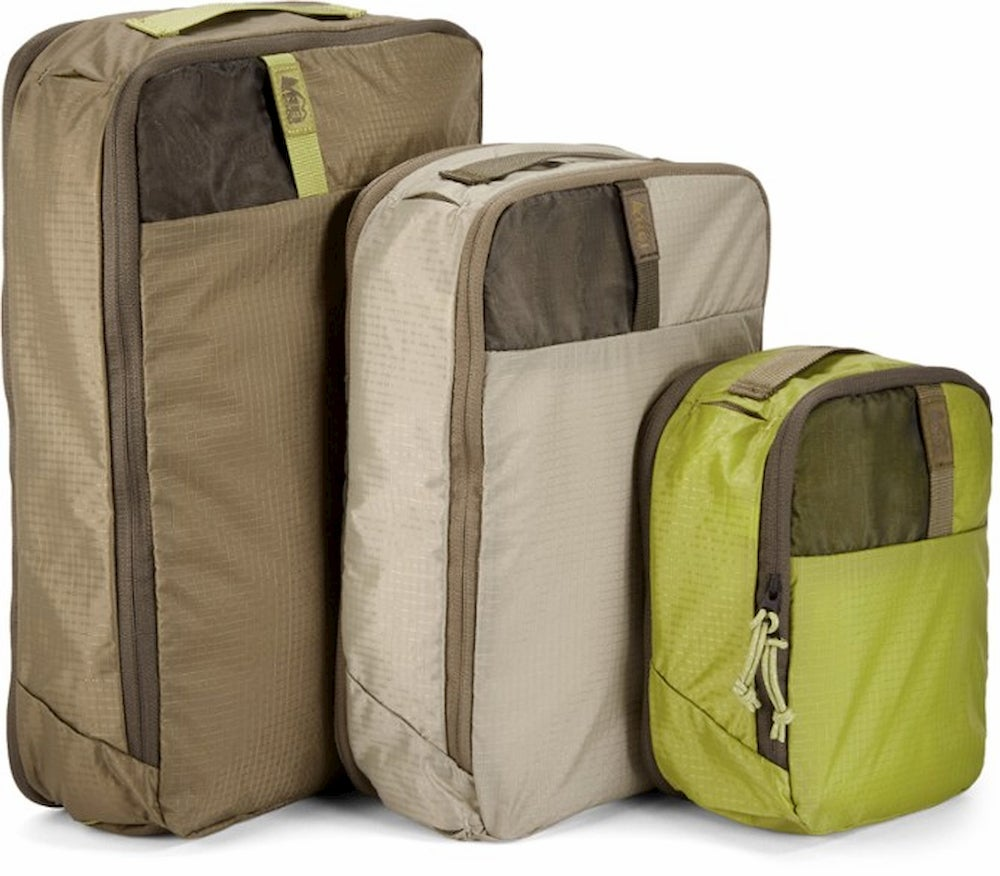 REI Co-op Expandable Packing Cube Set - Small/Medium/Large