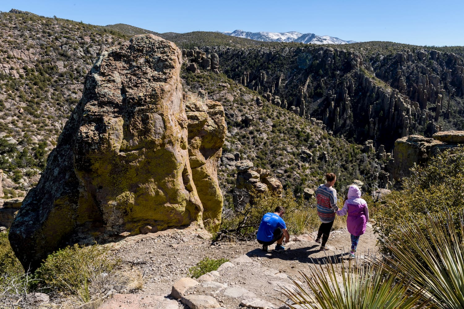 Chiricahua National Monument offers Great Arizona Camping Right In Tucson's Backyard