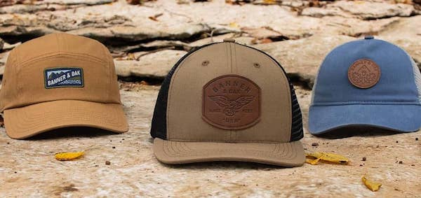 Banner and Oak Hats