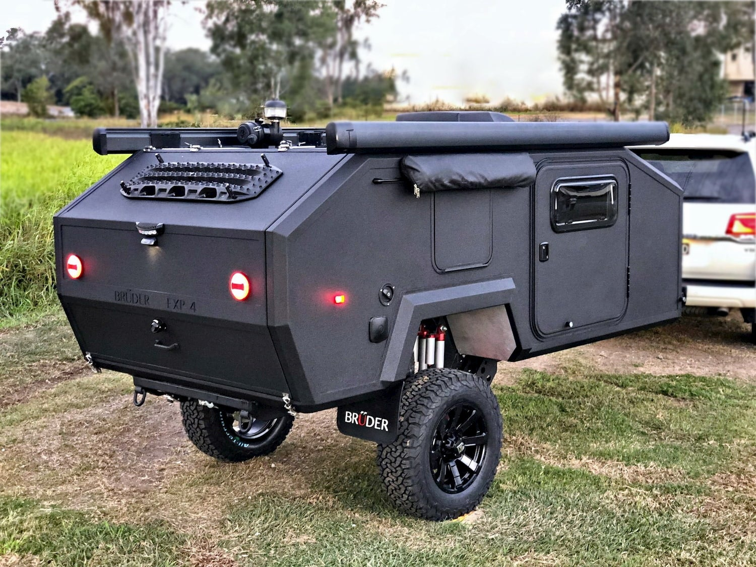 Bruder off-road trailer