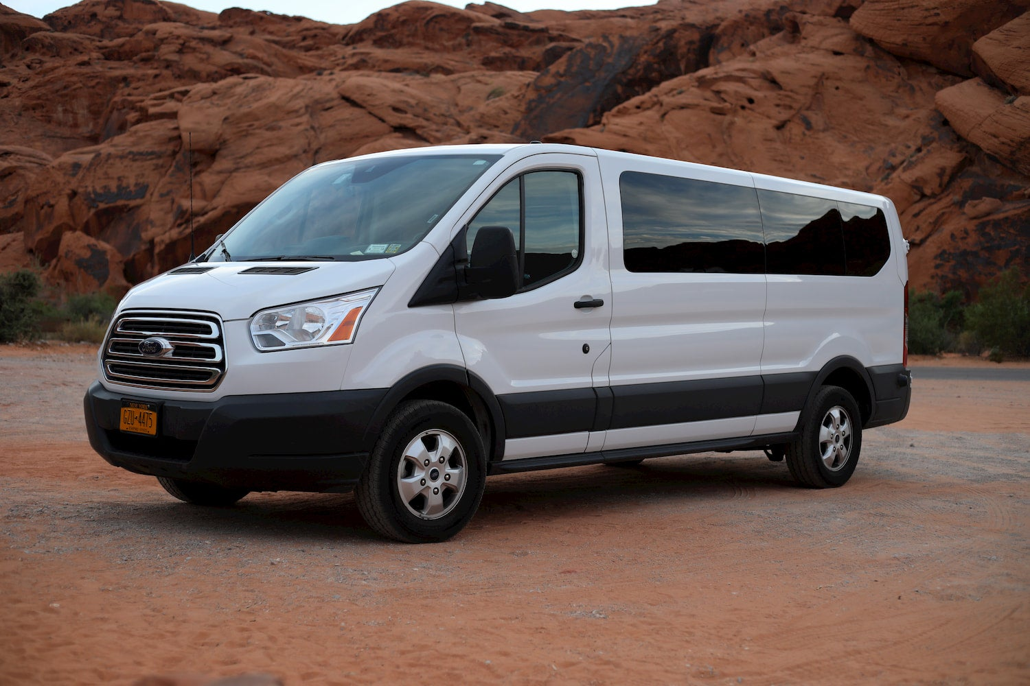 ford transit at valley of fire state park