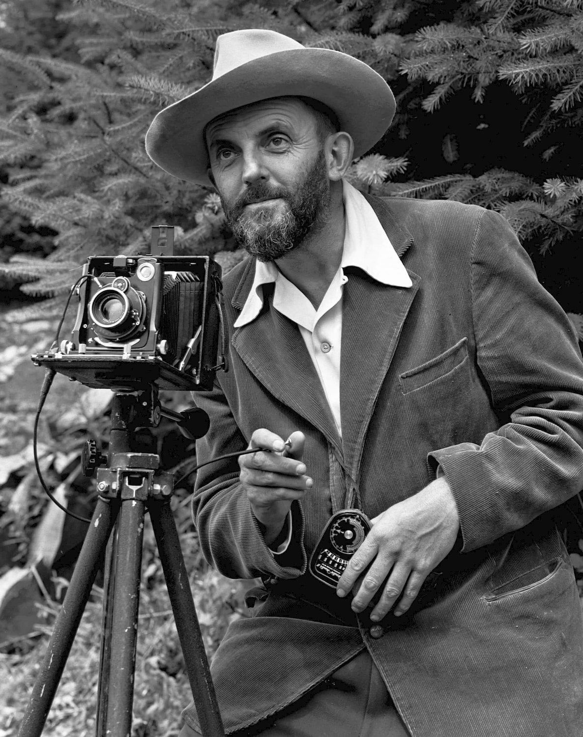 ansel adams and his camera