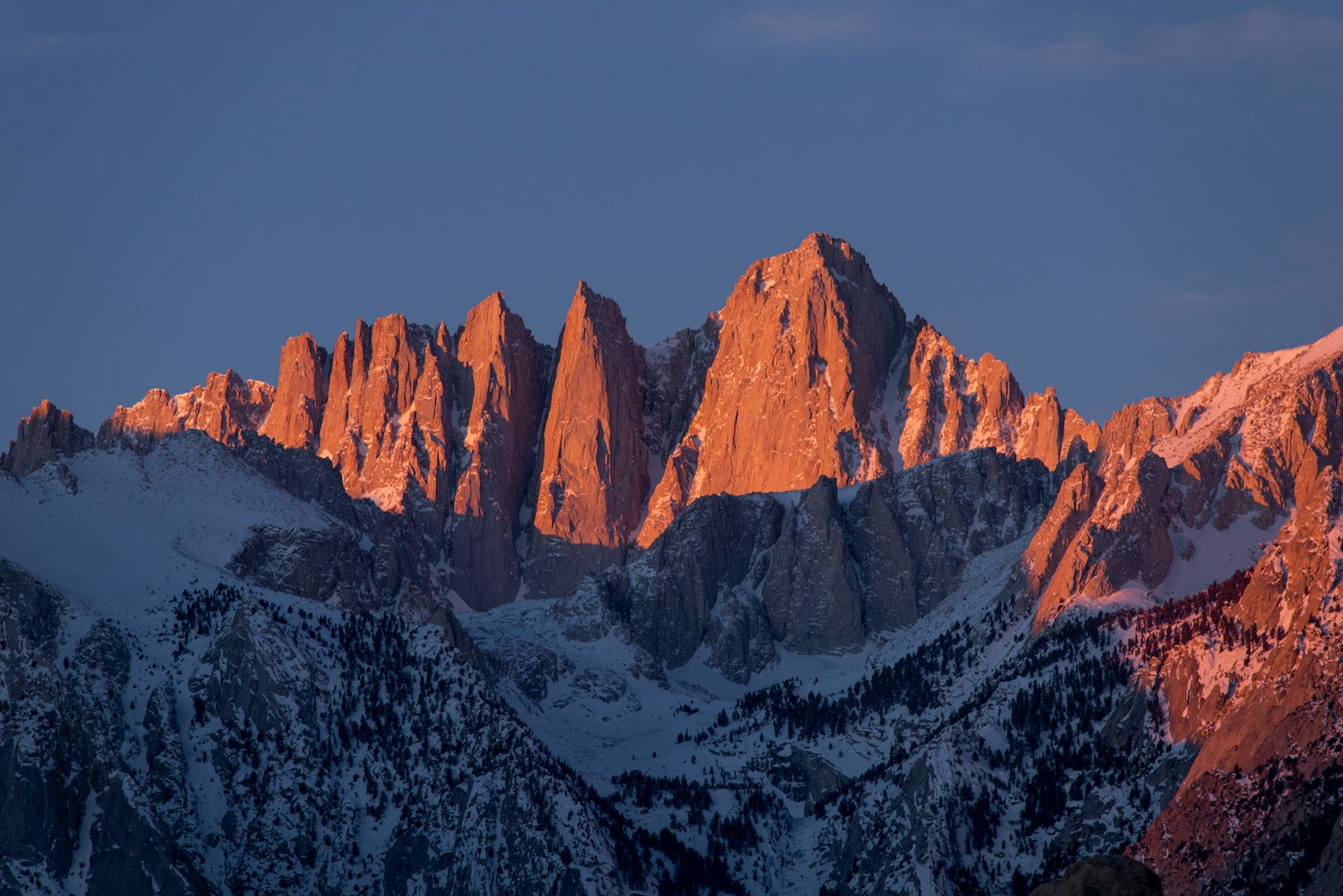 mount whitney peak