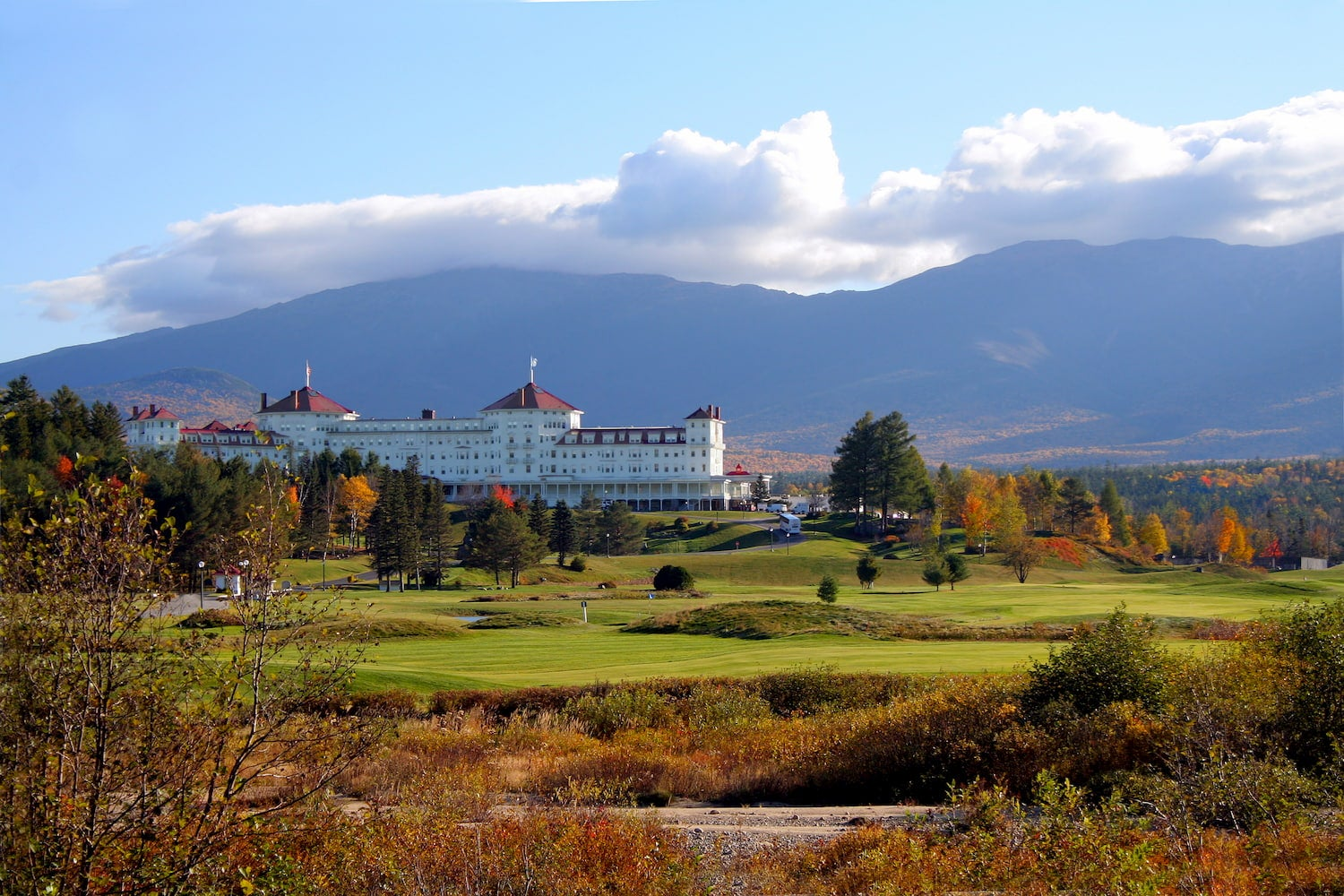 Mount Washington Hotel & Resort in Bretton Woods, New Hampshire