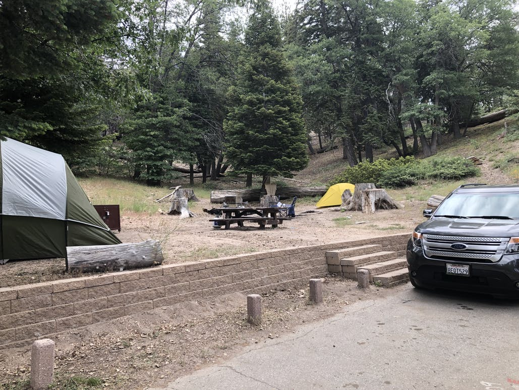 campsite 1 at green valley campground