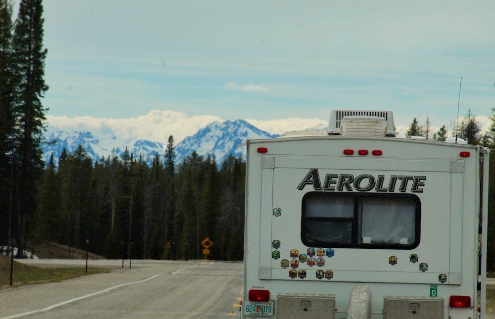 RV trip in alaska