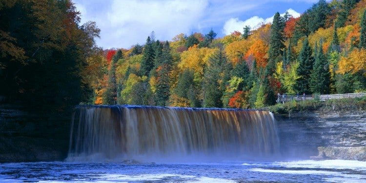 waterfalls in michigan