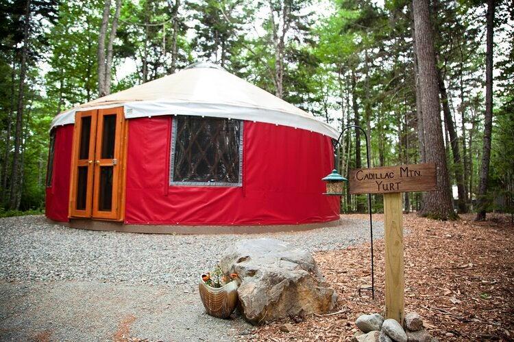 cadillac mountain yurt
