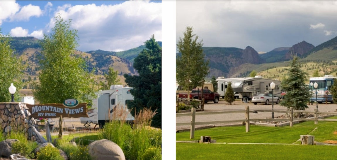 mountain views at rivers edge rv resort