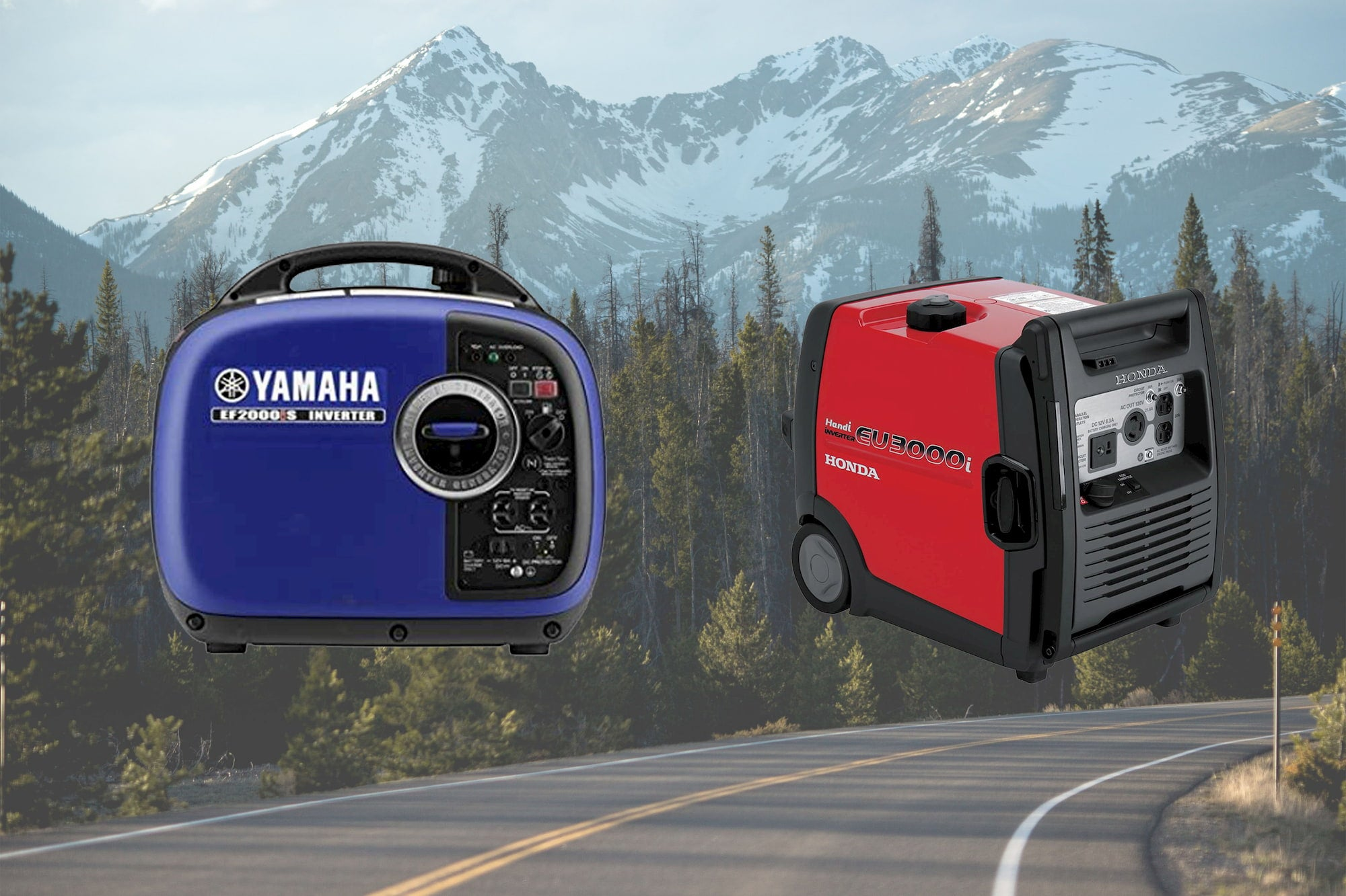 Generator product images.