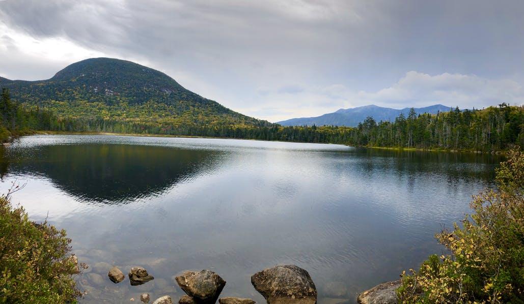 Lonesome Lake at Lafayette Lake Campground