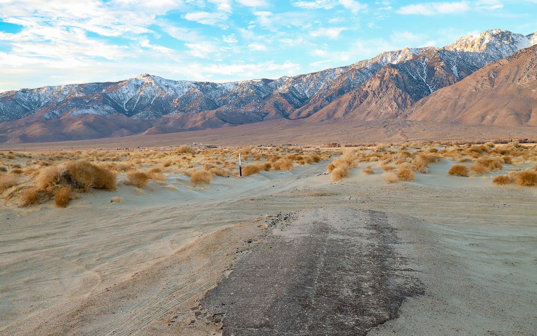 Olancha Dunes california BLM