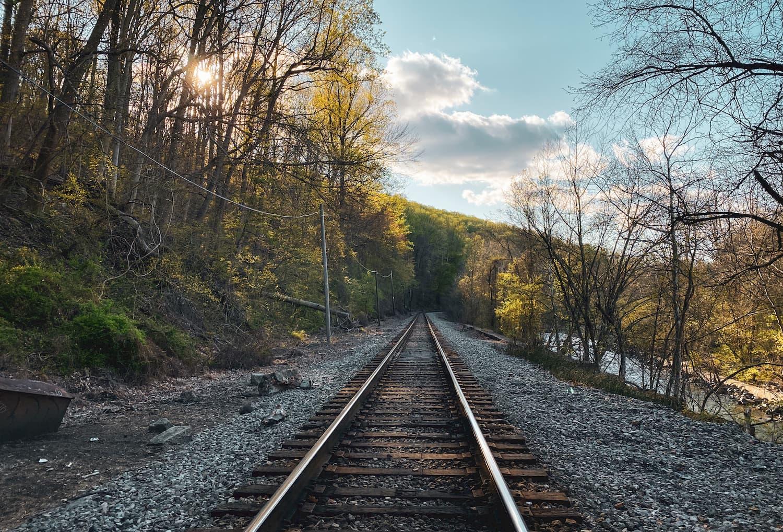railroad through patapsco valley state park