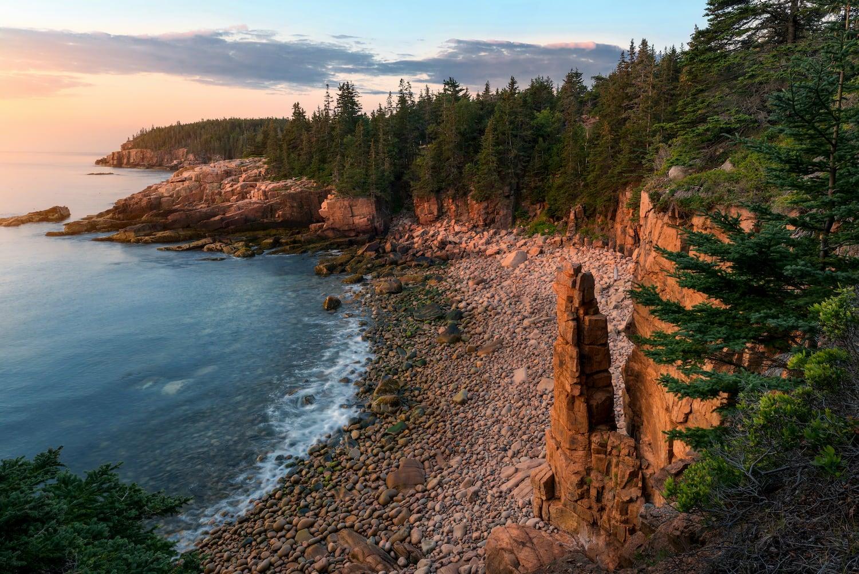 coast at acadia national park