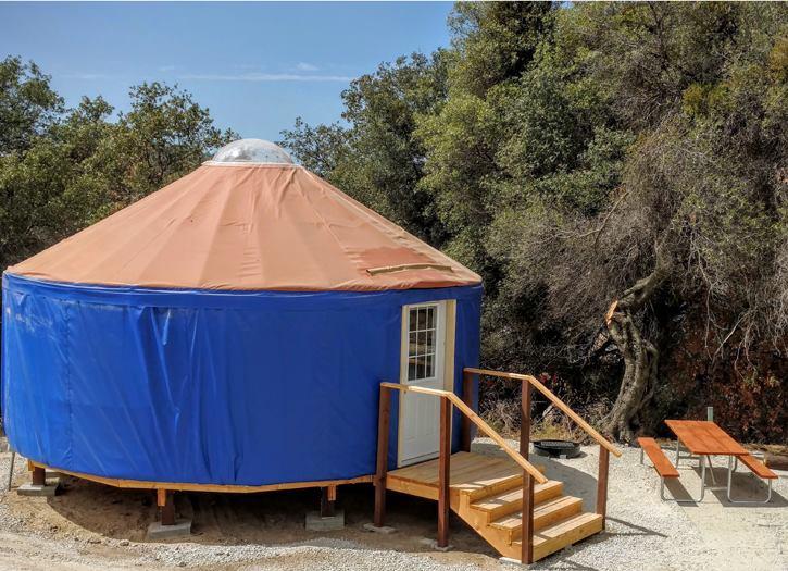 yurt at yosemite rv resort