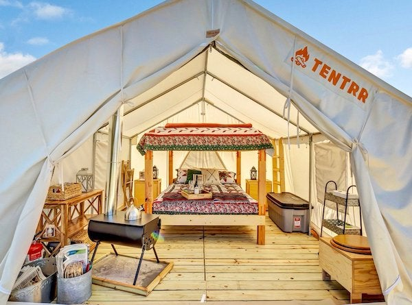 Tentrr - Camping and Glamping in California
