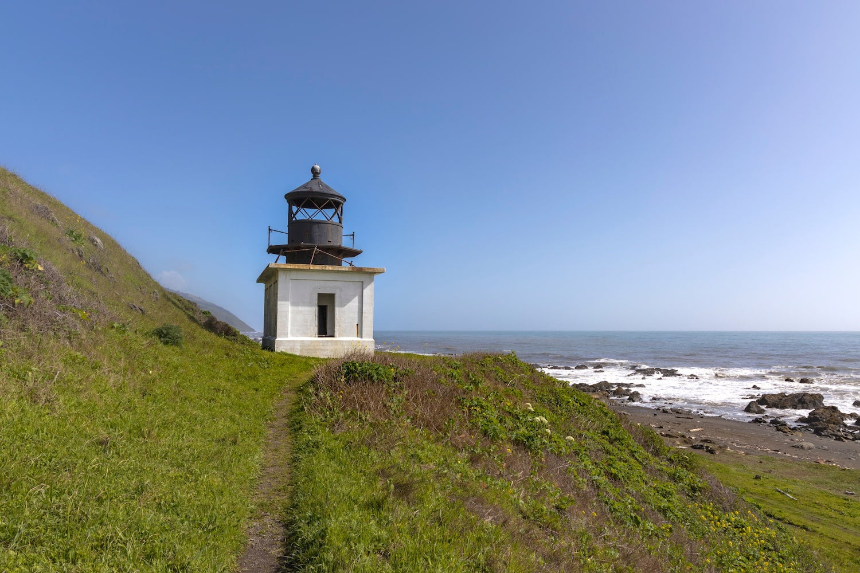 light house on Los Coast Trail
