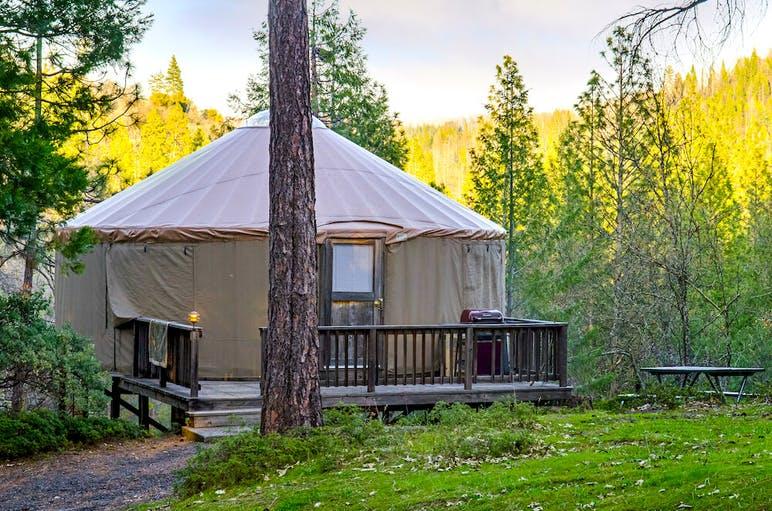 Yurt at Yosemite Lakes RV Resorty