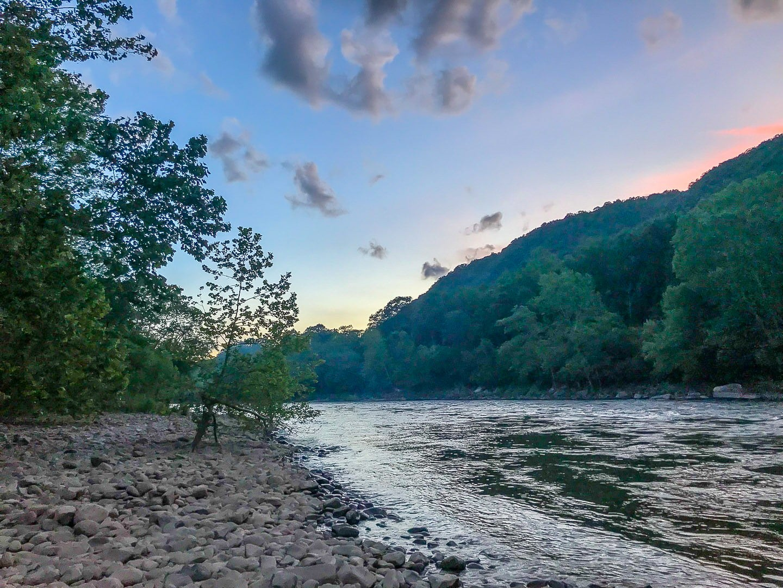 Grandview Sandbar Campground, West Virginia