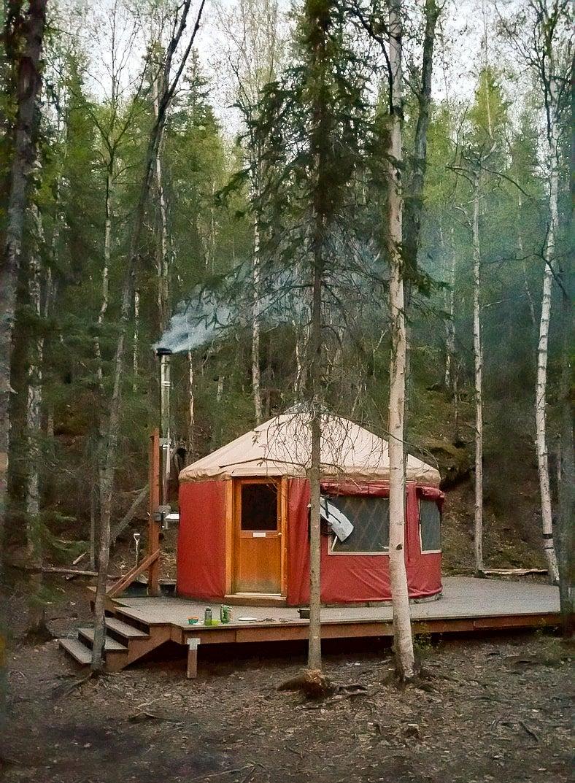 Yurt in Anchorage Alaska