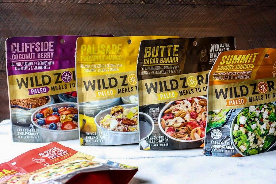 Wild Zora Paleo Meals To Go Flavor Varities