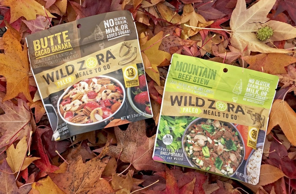 Fall Camping Food - Wild Zora's Paleo Meals