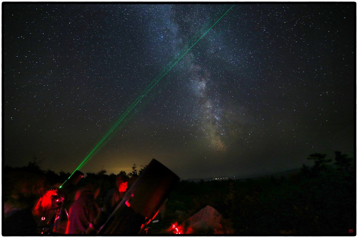 The Darkest Skies in The U.S. with Camping Nearby