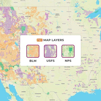 How to Find Free Camping with USFS & BLM Map Layers