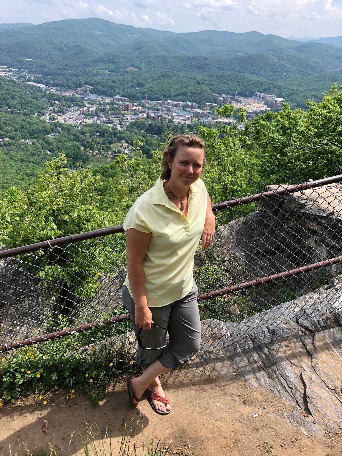 erin s at a scenic overlook