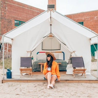 Escape the City by Beach Camping on Long Island
